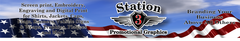 STATION 3 PROMOTIONAL GRAPHICS, LLC